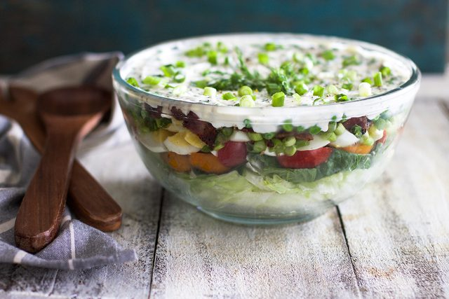 7-слойный салат